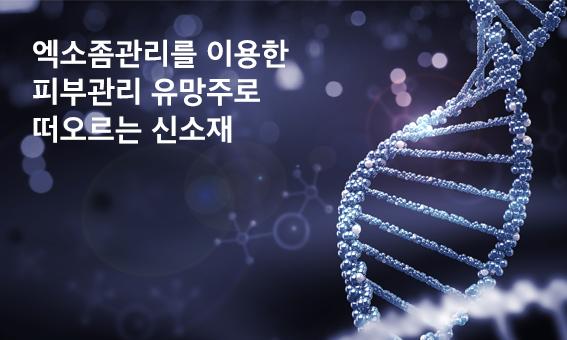 엑소좀관리를 이용한 피부관리 유망주로 떠오르는 신소재